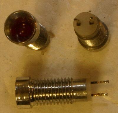 3 Stk LED Kontrollleuchte Signalleuchte  6mm rot  31559