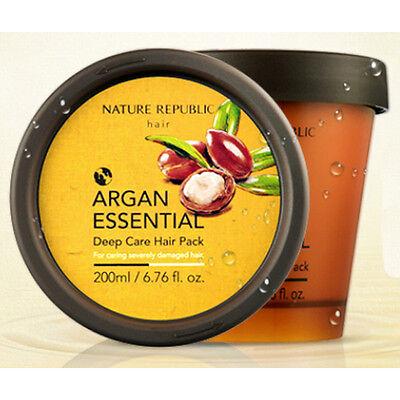 [Nature Republic] Argan Essential Deep Care Hair Pack 200ml