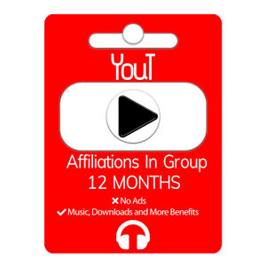 1Y-R|Yout Affiliation Premium ❤️Listen To Music|🎧Watch Videos and More+|Quality