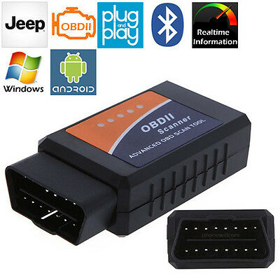 OBD II 2 READER TESTER CAR AUTO DIAGNOSTIC FAULT CODE SCANNER SCAN TOOL FOR JEEP