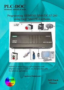 Details about introduction to programming SIEMENS SIMATIC S7-200 PLCs using  MicroWin software
