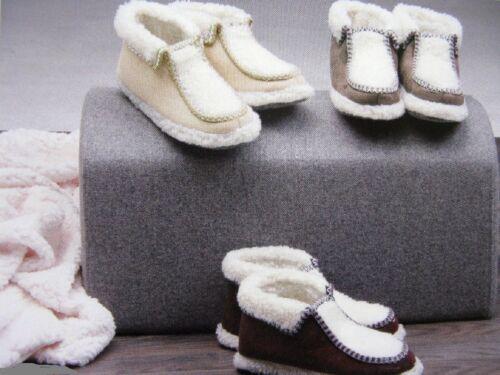 37-42 NEU Damen Hüttenschuhe Puschen Hausschuhe Schuhe warm gefüttert  Gr