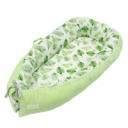Baby Cocoon Infant Sleep Nest Pod Reversible Coushion Bed With Soft Insert