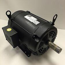 Weg 10 Hp 1800 Rpm Odp 200 Volts 215t 3 Phase Motor New Surplus