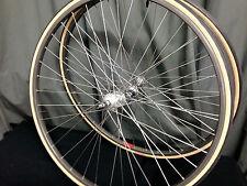 Near nos Wheel set Campagnolo Record concentradores Mavic ma40 Clincher no Crash/cracks 80
