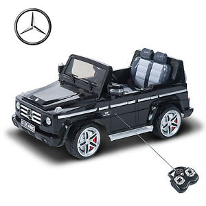 Mercedes benz g55 12v electric power ride on kids toy car for Ride on mercedes benz toy car