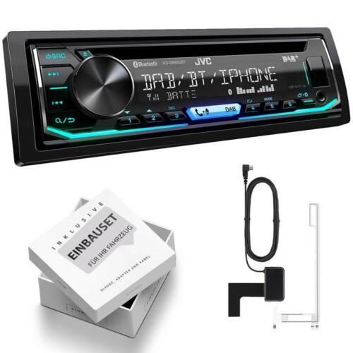 JVC kd-db902bt 1 din auto radio con DAB antena montaje Set para bmw x1 a partir de 2009