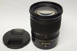 Nikon-Nikkor-Z-24-70-mm-4-0-S-Objektiv-fur-Z6-Z7-gebraucht