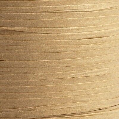 5 METRE CUTS PAPER RAFFIA RIBBON - 7MM WIDE - 19 COLOURS