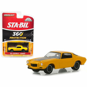 1971-Chevy-Camaro-Sta-bil-360-Protection-HOBBY-GREENLIGHT-DIECAST-1-64