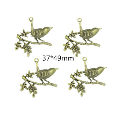 70 Styles Antique Bronze Animals Charms Jewelry Crafts DIY Finding Pendant H
