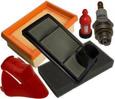 Set Filtro dell'aria, Filtro Carburante, Stop, Candela, Kit di ricambio delle parti Si Adatta a Stihl TS400