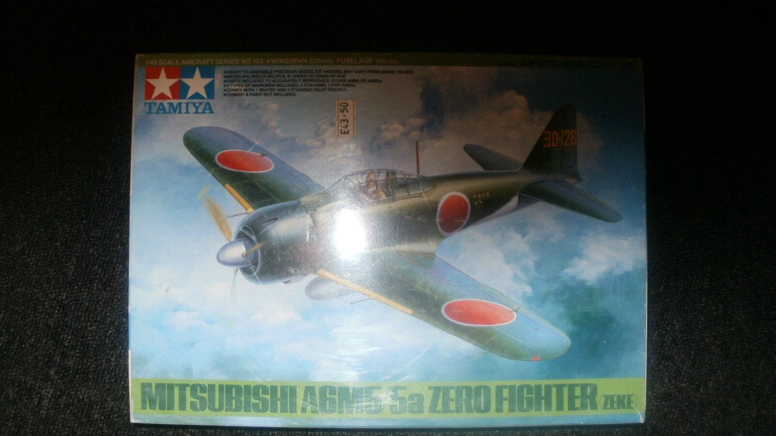 TAMIYA MITSUBISHI A6M5 5A ZREO FIGHTER