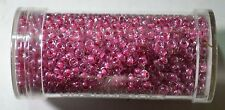 GUTERMANN CREATIV SEED BEADS, Size 9/0, 28 gram TUB, PINK-4810, HIGHEST QUALITY