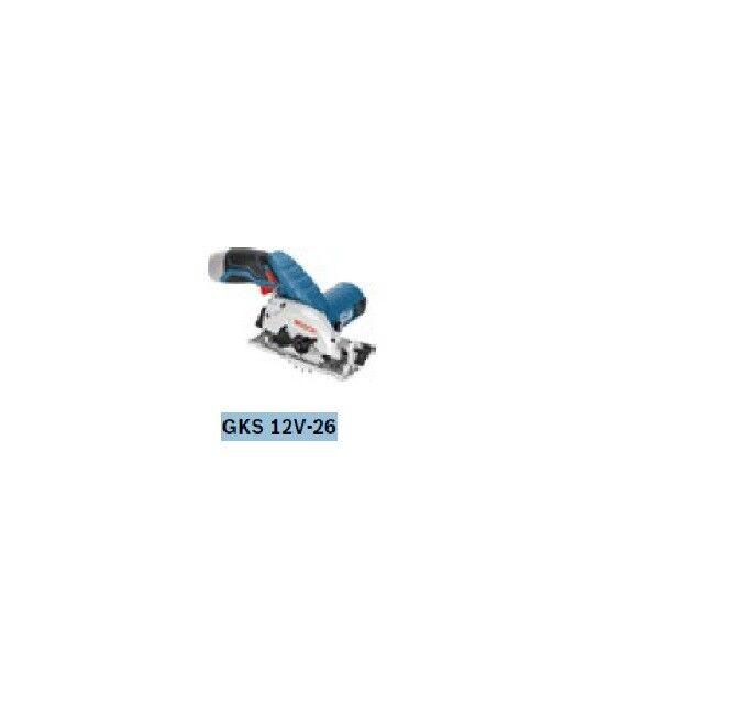 Bosch Professional GKS 12V-26 Akku-Handkreissäge solo 06016a1001