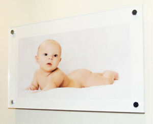 Picture Photo Frame 10 X 20 25 X 50 Cm Cheshire Acrylic Baby