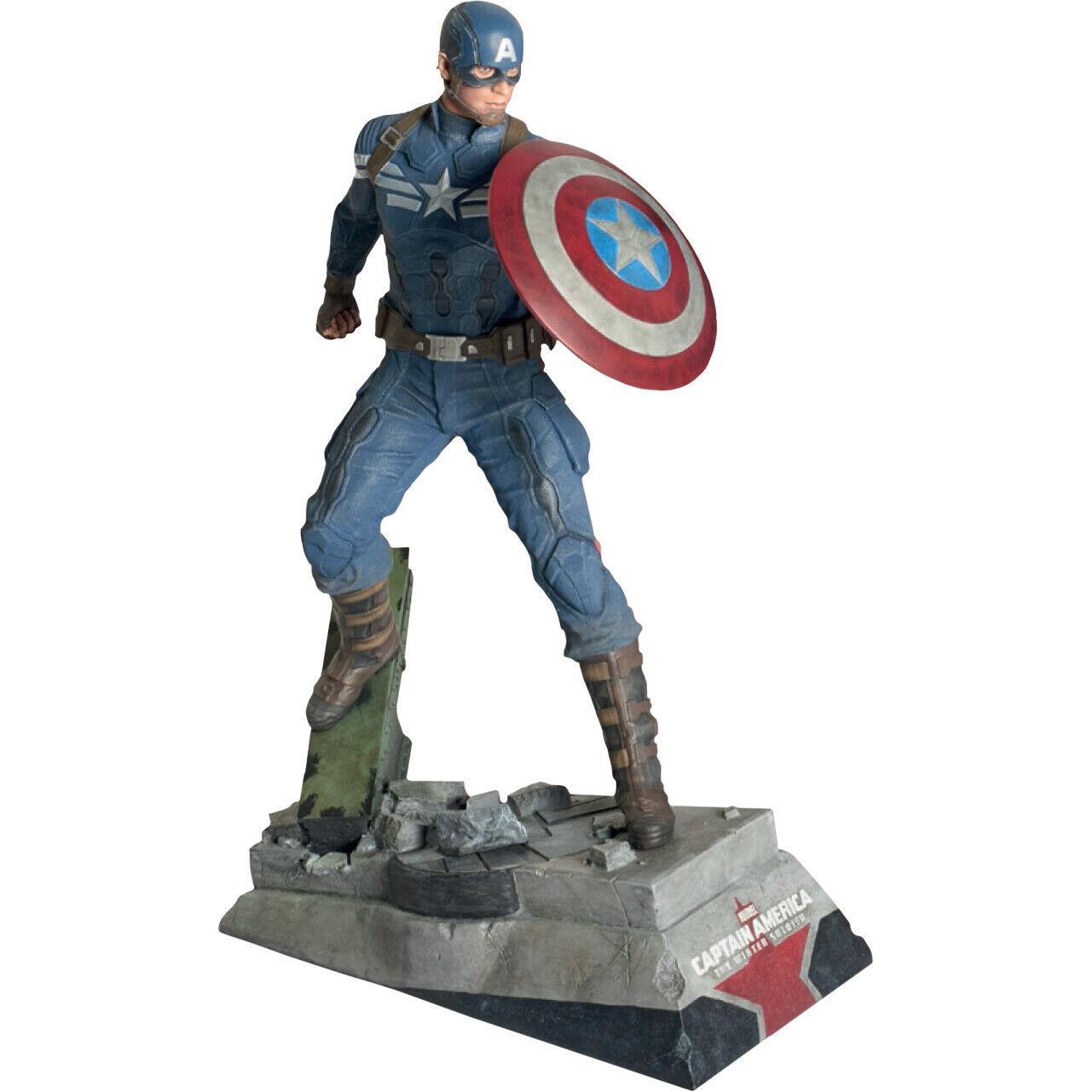 """Captain America  The Winter Soldier - Captain America 24"""" Statue"""