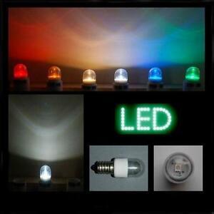 LED-0-6W-E14-klar-weiss-farbig-Lampe-Kuehlschrank-Signal