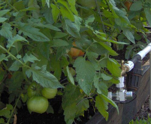 Solar Automatic Garden Watering Timer Controller System Soil Moisture Sensor
