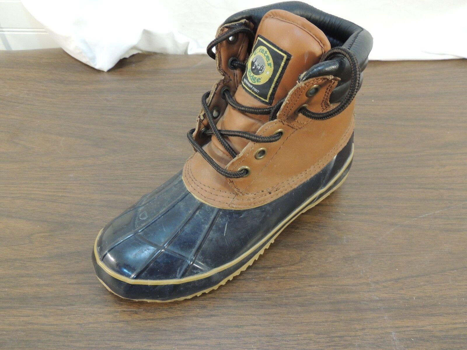 Crater Ridge Pike 2 Waterproof Winter Upper Boots Men's 7 Leather Upper Winter LEFT BOOT ONLY 50da0d