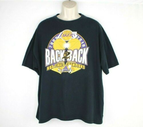 Los Angeles Lakers Vintage Back To Back Championsh