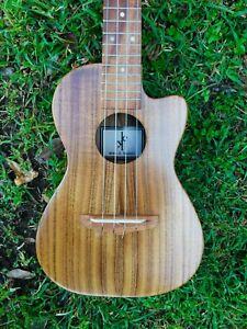 Hawaii Ukulele Concert All Solid Acacia Koa Wood Traditional Classic