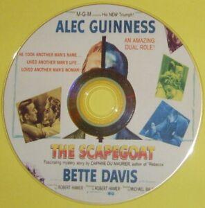 DRAMA 236: THE SCAPEGOAT (1959) Alec Guinness, Bette Davis, Nicole Maurey
