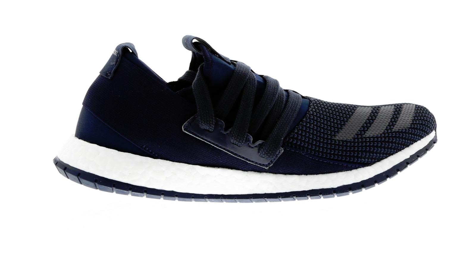 Mens ADIDAS PUREBOOST R M Dark Blue Running Trainers BB0814