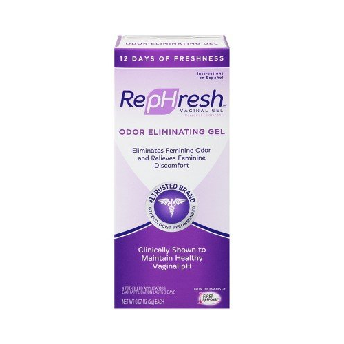 5 Pack Rephresh Vaginal Gel 0.07 Oz. 4 Prefilled