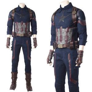 avengers infinity war captain america costume steve rogers halloween