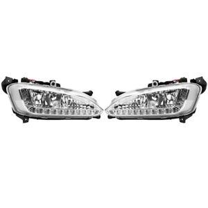 Paar LED Tagfahrlicht DRL Nebelscheinwerfer Abdeckung für Hyundai /IX45