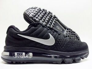 NIKE AIR MAX 2017 BLACK WHITE-ANTHRACITE SIZE MEN S 10  849559-001 ... 83a4ec994