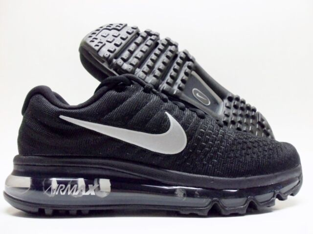 5c6791735962 NIKE AIR MAX 2017 BLACK WHITE-ANTHRACITE REFLECTIVE SIZE WOMEN S 7  849560-