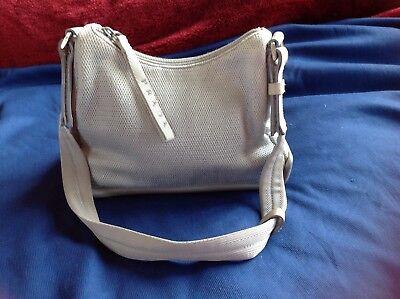 2c31024b1b62 ... coupon ladies prada designer handbag grey fabric real suede inside shoulder  bag 032ae 36fe6 ...
