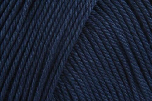 Sirdar Algodón DK doble Knitting yarn//wool 100g French Navy 514