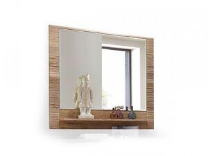 candra spiegel mit ablage f r diele flur garderobenspiegel 100x90 dekor eiche ebay. Black Bedroom Furniture Sets. Home Design Ideas
