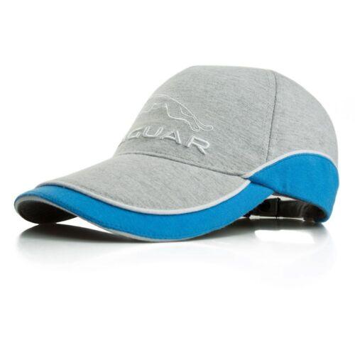 Grey Marl Genuine Jaguar Leaper Logo Baseball Cap