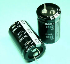 400 Pcs Panasonic ECOS2DA681CB Capacitors for sale online