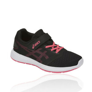 Rose Baskets Ps course Chaussures Baskets Noir Patriot Asics 10 Junior de Sports qw07vtS