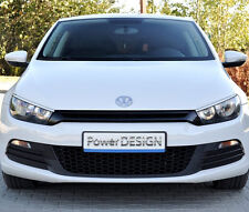 Eyebrows for VW SCIROCCO 2008-2014 headlight eyelids lids ABS Plastic