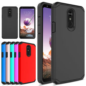Details about For LG Stylo 5/ Stylo 4 Plus /Q Stylus Shockproof Hybrid  Armor Phone Case Cover