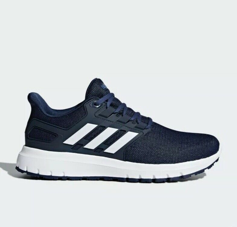 Adidas Mens Energy Cloud 2 Size 10 Navy  White Running shoes New In Box Sneakers