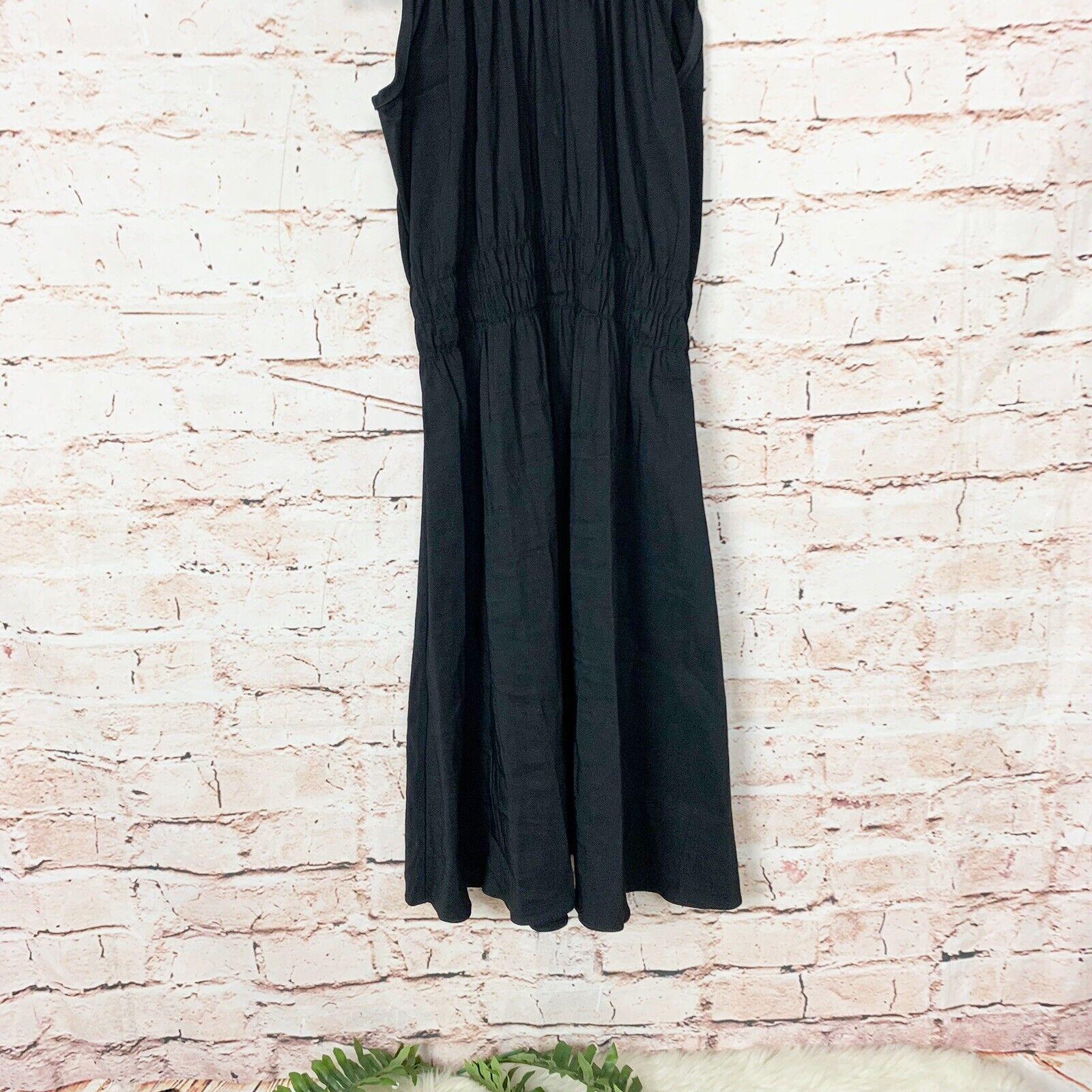 Beaufille Ossa Black Turtleneck Mini Dress Womens… - image 2
