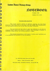 1992-LARGE-PAPERBACK-039-THE-GRACE-DOVE-COLLECTION-039-LPHG-NOTEBOOK
