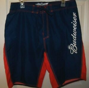 O/'NEILL MENS SWIM BOARD SHORTS SZ 30 WHITE MULTI-COLOR BEER NWT $49.50
