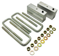 1947-55 Chevy Truck And Gmc Truck 3 Lowering Block Kit, Stock Rear End