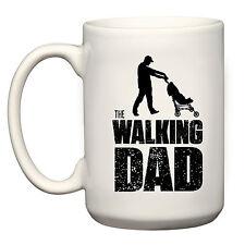 NEW WALKING DAD BIG MUG 15 OZ ZOMBIE DADDY WALKING DEAD PARODY CUP GIFT FOR DADS