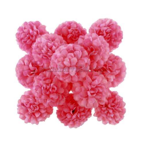30x Künstliche Daisy Seidenblumen Blumen kunstblumen Köpfe Hochzeit Deko