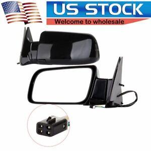 Power Side View Door Mirrors For 88-98 C/K 1500 Tahoe Yukon Pickup Pair Set