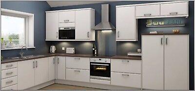 Kitchen Units Sets Chamfered Matt White Kitchen Unit Cabinet Cupboard Doors Fit Howdens B Q Magnet Home Furniture Diy Crazyteen Vn